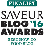 FoodNouveau.com, Finalist in the Saveur Magazine 2016 Blog Awards in the Best How-To Food Blog Category
