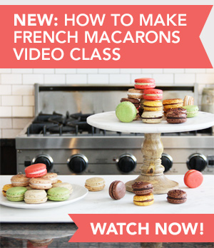 How to Make French Macarons, a Skillshare Video Class by FoodNouveau.com
