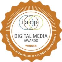 IACP 2018 Awards Winner, Digital Media Awards: Best Individual Blog // FoodNouveau.com