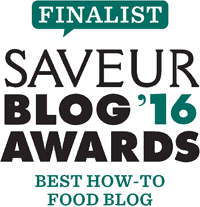 Finalist, Saveur 2016 Blog Awards, Best How-To Food Blog // FoodNouveau.com