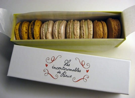 Les incontournables de Paris - macaron assortment by Pierre Hermé