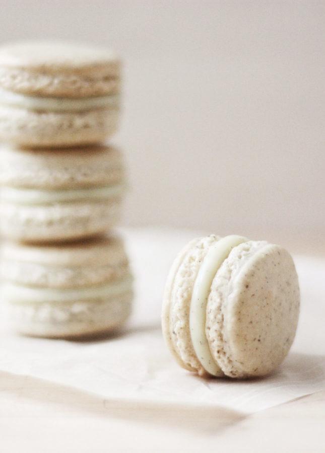 Basic French Macaron Recipe: Vanilla Bean Macarons // FoodNouveau.com