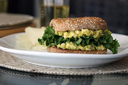 Really Yummy Homemade Egg Salad // FoodNouveau.com