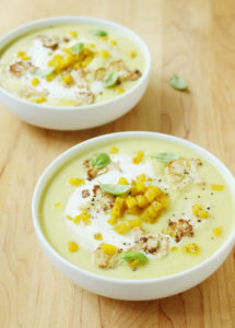 Curried Cauliflower and Apple Soup // FoodNouveau.com