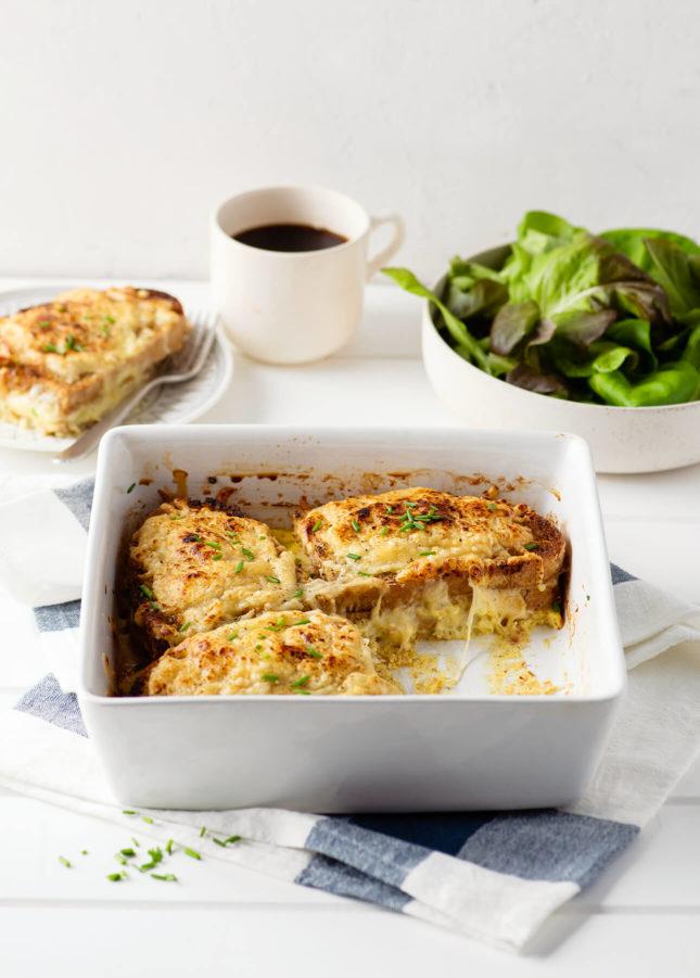 Croque-Monsieur Bake // FoodNouveau.com
