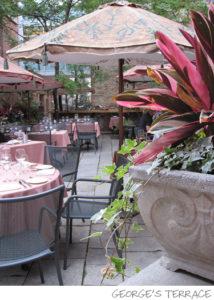 George Restaurant's terrace, Toronto