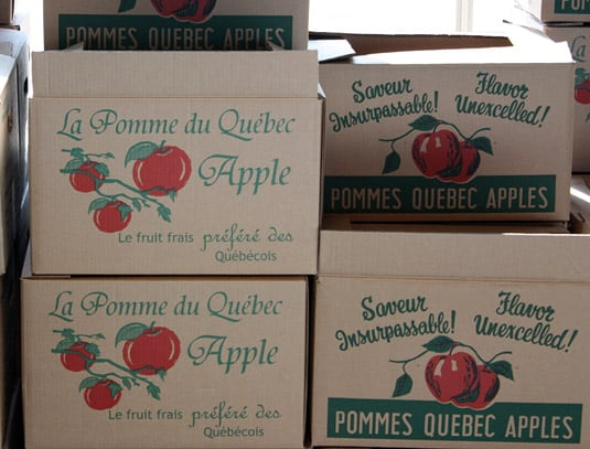 Quebec's apples are the best!