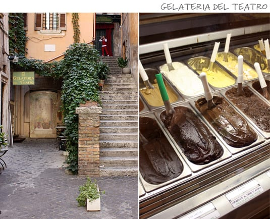 Gelateria del Teatro: Classic and modern flavors, lactose- and gluten-free options