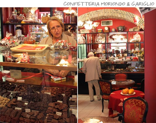 Confetteria Moriondo & Gariglio: Chocolates and sweets