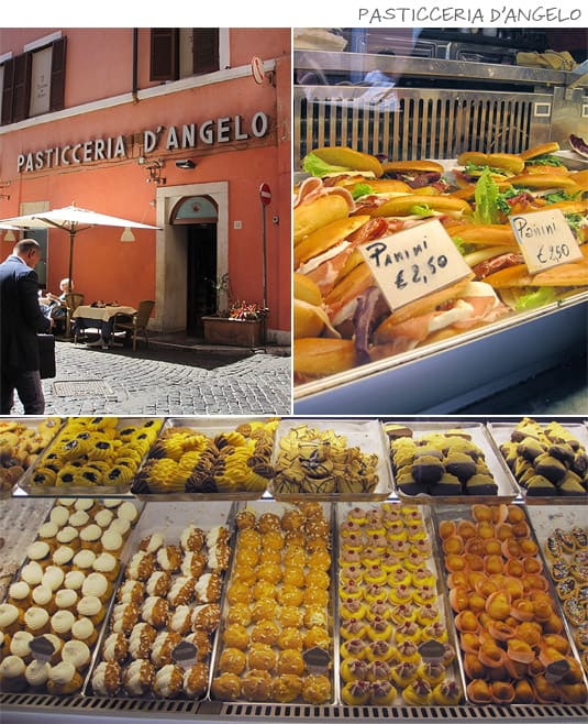 Pasticceria D'Angelo: Panini, pastries and sweets