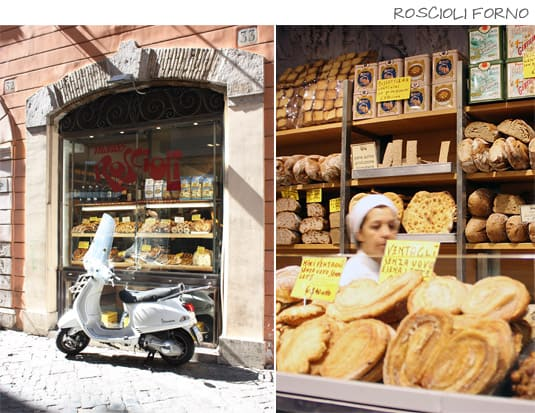 Roscioli Forno: Breads, sweets, pizza by weight, quick lunches