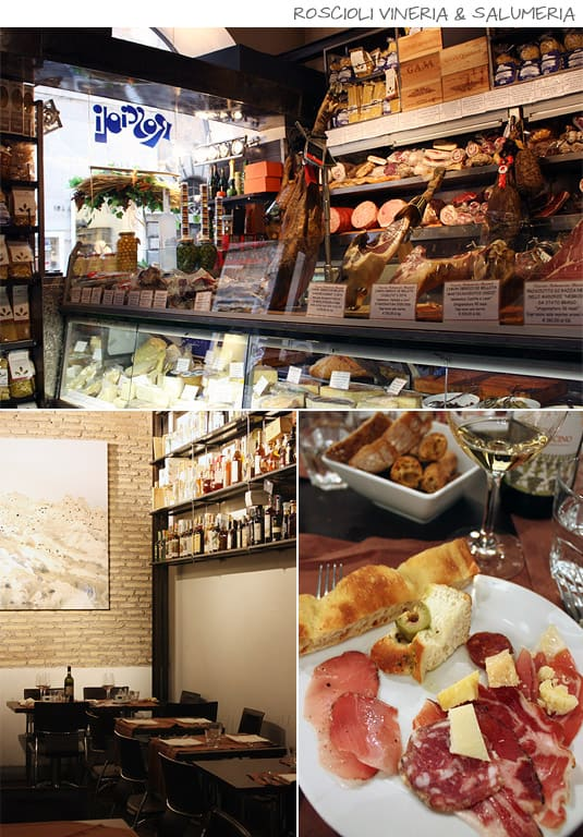 Roscioli Vineria & Salumeria: wine, cured meats, salumi, cheeses, fine products