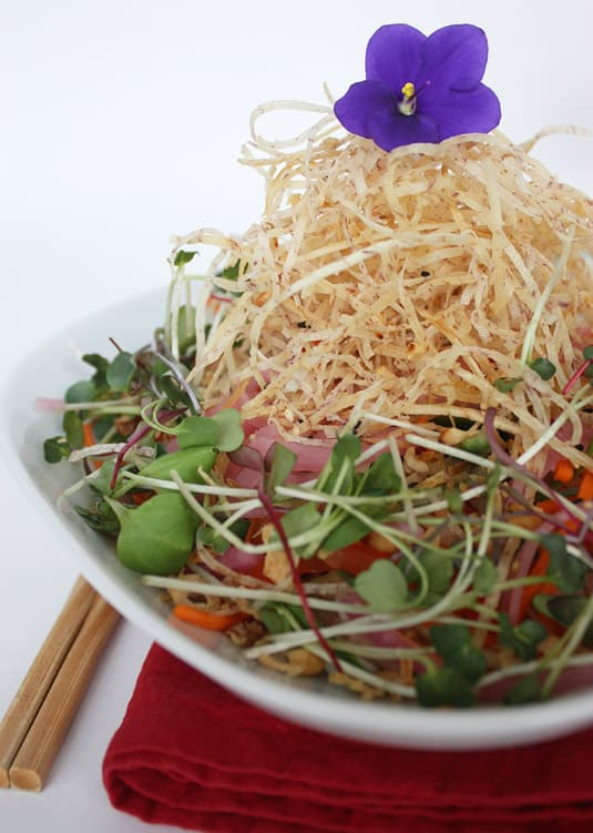 Susur Lee's Singapore Slaw