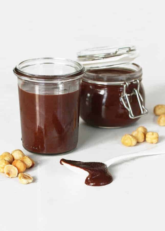Dairy-Free Chocolate Hazelnut Spread // FoodNouveau.com