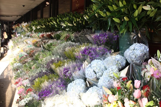 Grace's Marketplace - Outdoor Flower Market