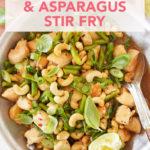 Cashew, Chicken, and Asparagus Stir-Fry // FoodNouveau.com