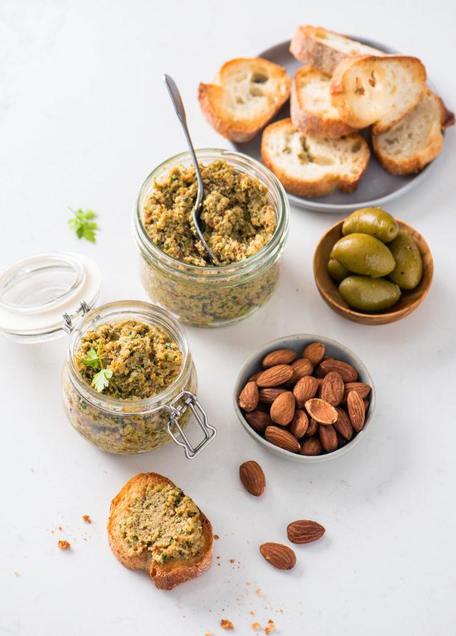 Chunky, Lemony, Addictive Green Olive Tapenade // FoodNouveau.com