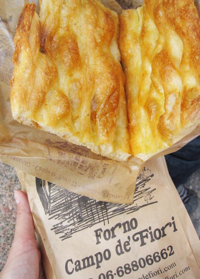 Forno Campo de' Fiori's Pizza Bianca // FoodNouveau.com