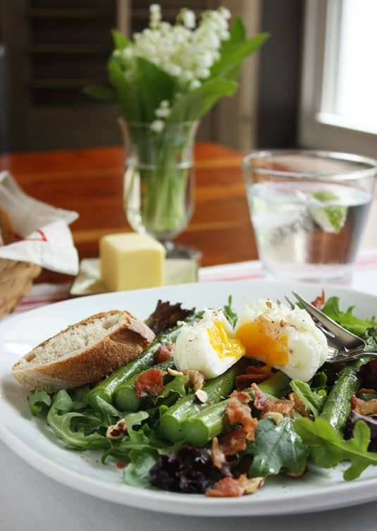 Dorie Greenspan's Bacon, Eggs, and Asparagus Salad
