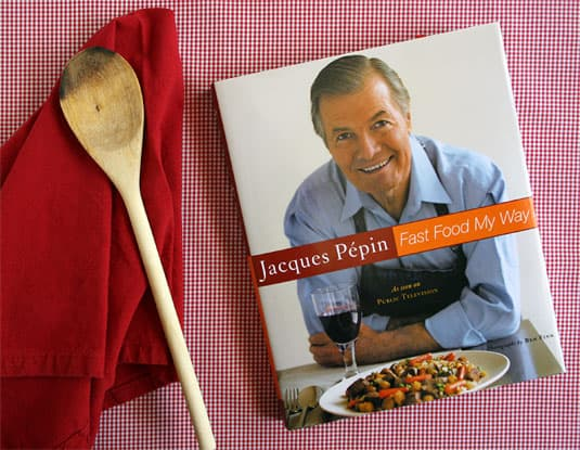 Win a signed copy of Jacques Pépin's Fast Food My Way