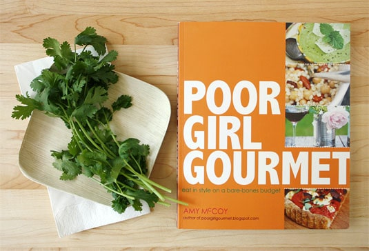 Win a signed copy of Poor Girl Gourmet!