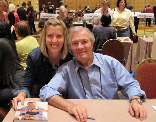 The legendary Jacques Pépin, at the 2011 IACP Annual Conference, Austin, Texas