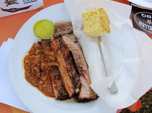 Classic Texas Cuisine: Brisket, Ribs and Corn Bread