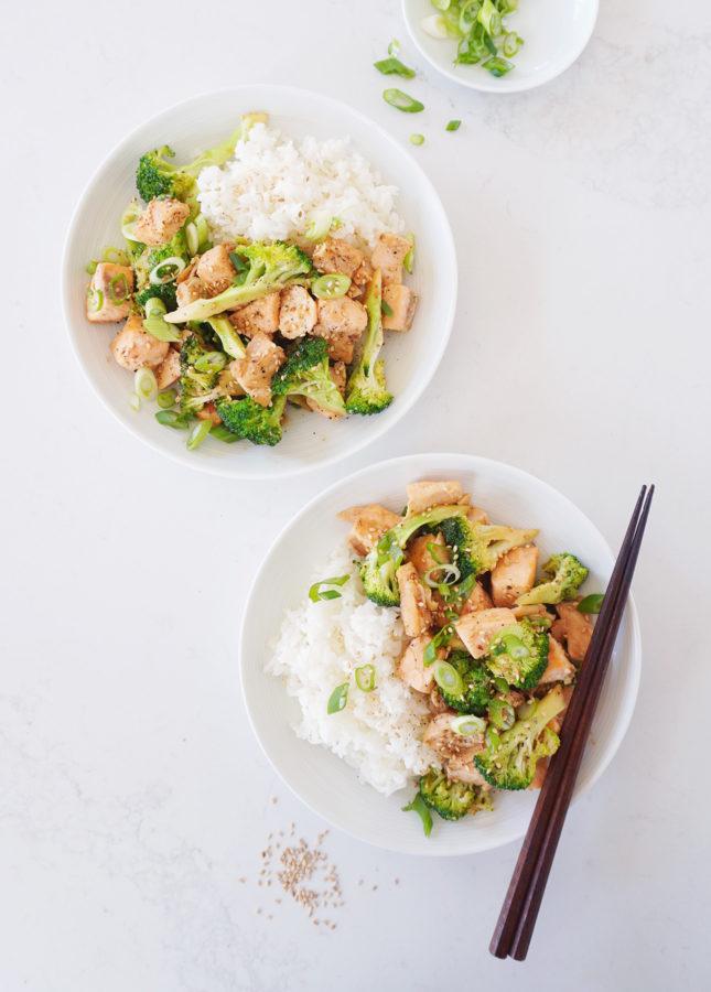 Superfast Fish Stir-Fry // FoodNouveau.com