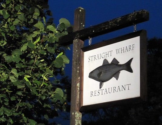 Straight Wharf Restaurant, Nantucket