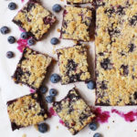 Oats and Blueberry Crumb Bars // FoodNouveau.com