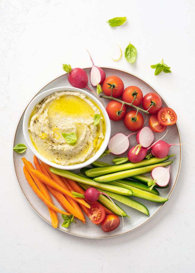 White Bean and Parmesan Dip // FoodNouveau.com