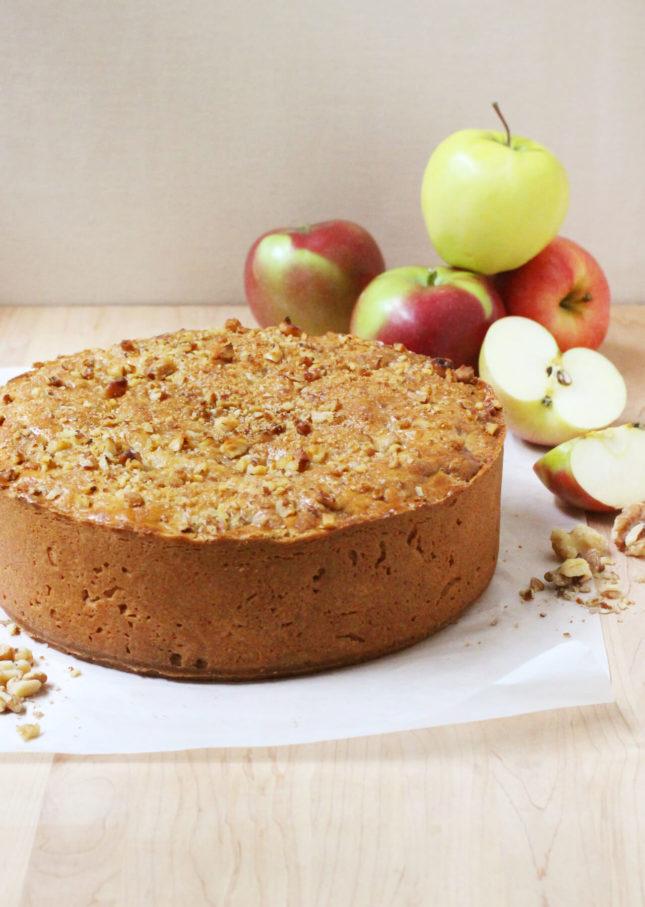 Deep-Dish Dutch Apple Pie, Inspired by the Winkel Café in Amsterdam // FoodNouveau.com