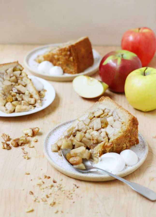 Deep-Dish Dutch Apple Pie, Inspired by the Winkel Café in Amsterdam // FoodNouveau.com
