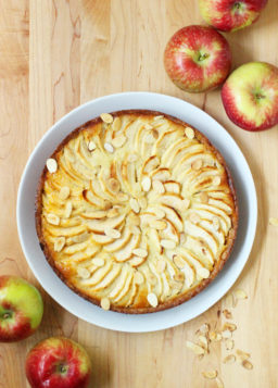 {Apple Week} Apple Frangipane Tart