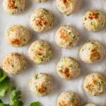 Super Versatile Baked Turkey Meatballs // FoodNouveau.com
