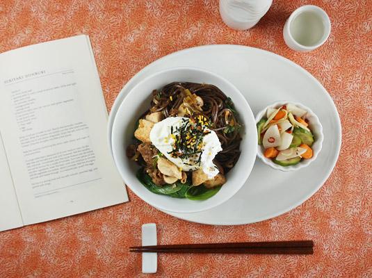 Sukiyaki Donburi (Sukiyaki on Rice)