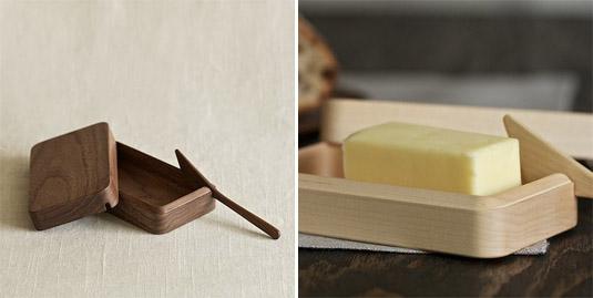 Kakudo Wood Butter Dish