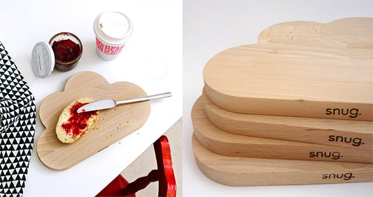Cloud Cutting Board