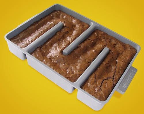 All Edges Brownie Pan, via ThinkGeek