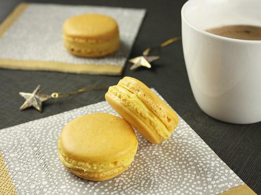 Macaron Week: Yuzu & Ginger Macarons