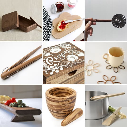 Shopping Gourmand: Wood
