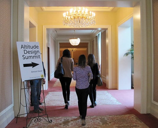 Altitude Design Summit 2012 at The Grand America Hotel, Salt Lake City