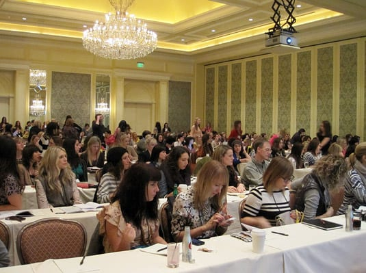 A roomfull of stylish and friendly design lovers, Alt Design Summit 2012