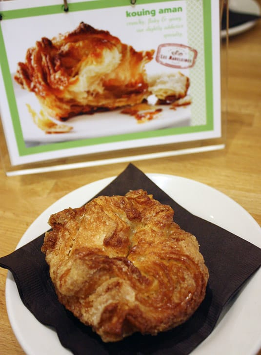 The kouing-aman is a rich, buttery pastry from Brittany.