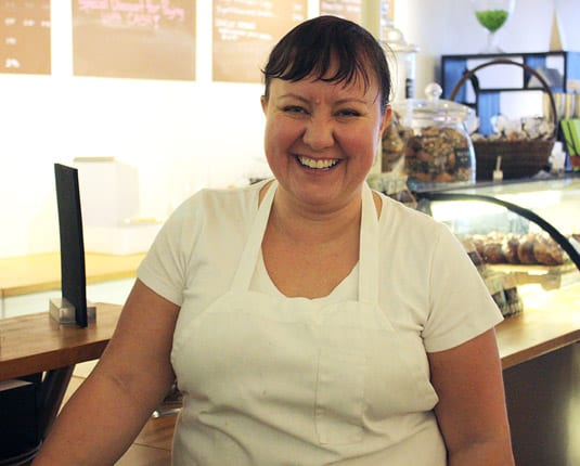 Les Madeleines's endearing and generous owner, Romina Rasmussen.