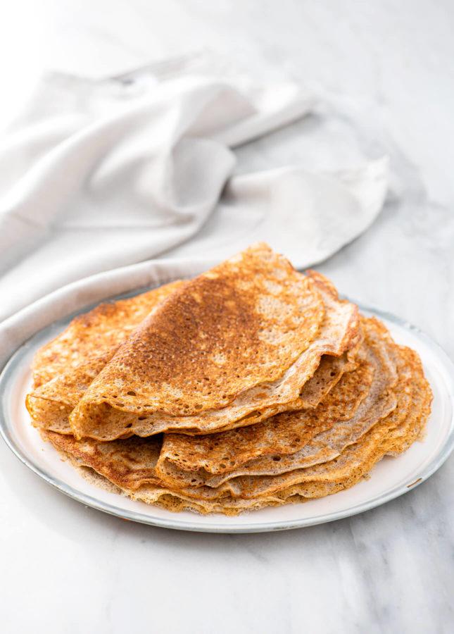 Savory Buckwheat Crepes // FoodNouveau.com