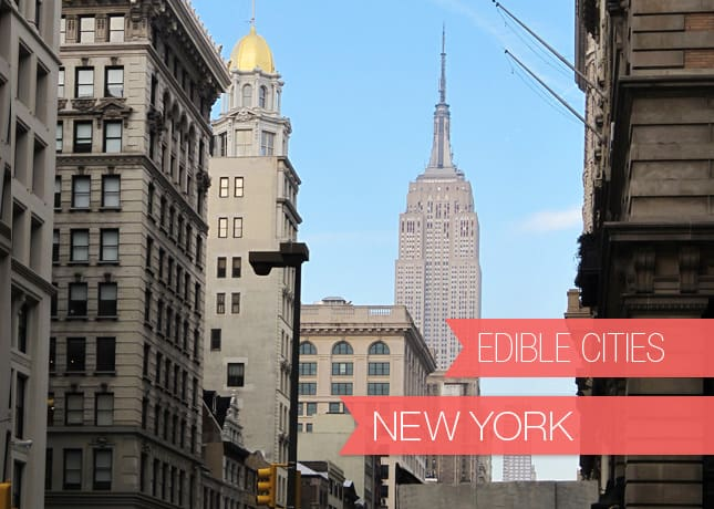 {Edible Cities} New York City, with Mayssam from Will Travel For Food