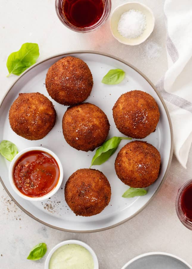 How to Make Arancini (Fried Risotto Balls!) // FoodNouveau.com