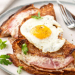 Savory Buckwheat Crepes with Egg, Ham, and Cheese (Galettes Complètes) // FoodNouveau.com