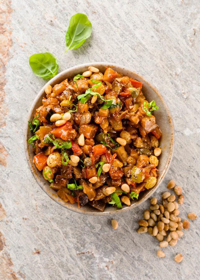 How to Make Sicilian Caponata // FoodNouveau.com
